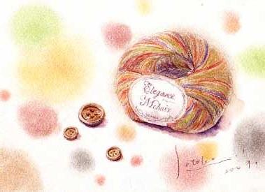 毛糸とボタン