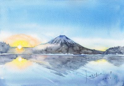 富士の日の出