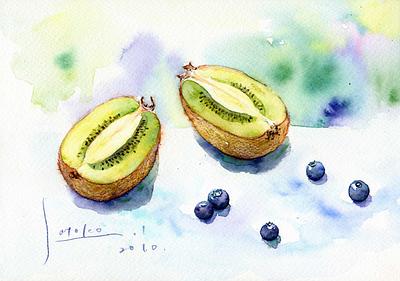 Kiwi&blueberry