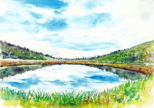 弓池 ‐草津白根山‐